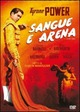 Cover Dvd Sangue e arena
