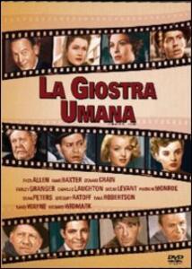 La giostra umana di Henry Koster,Henry Hathaway,Howard Hawks,Henry King,Jean Negulesco - DVD
