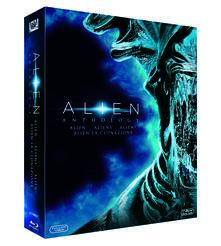 Alien Anthology (4 Blu-ray) di James Cameron,David Fincher,Jean-Pierre Jeunet,Ridley Scott