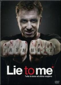 Lie to me. Stagione 3 (4 DVD) - DVD