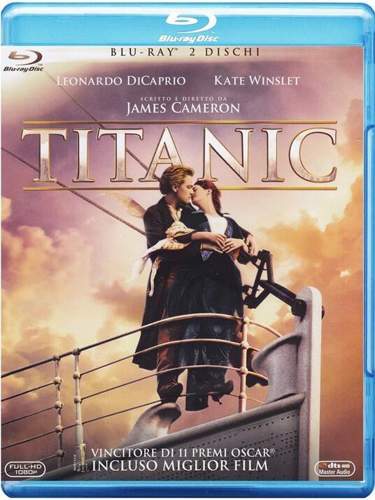 Titanic (2 Blu-ray) di James Cameron - Blu-ray