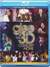 Cover Dvd Glee. The Concert Movie 3D (Blu-ray)
