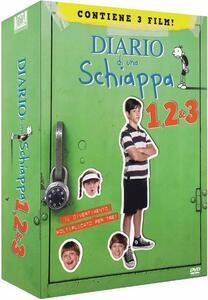 Diario di una schiappa 1- 2 - 3 (3 DVD) di David Bowers,Thor Freudenthal