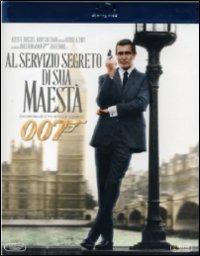 Cover Dvd Agente 007. Al servizio segreto di Sua Maestà (Blu-ray)