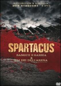 Spartacus. Gli dei dell'arena. Sangue e sabbia (8 DVD)<span>.</span> Collector's Edition - DVD