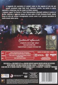 La leggenda del cacciatore di vampiri di Timur Bekmambetov - DVD - 2