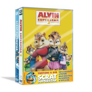 Alvin superstar 2. Scrat superstar (2 DVD) di Betty Thomas