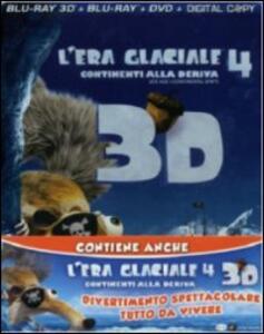 L' era glaciale 4 3D. L'era glaciale 3 3D (DVD + Blu-ray + Blu-ray 3D) di Steve Martino,Carlos Saldanha,Mike Thurmeier