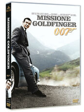 Film Agente 007. Missione Goldfinger Guy Hamilton