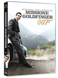 Cover Dvd Agente 007. Missione Goldfinger (DVD)
