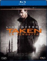 Cover Dvd Taken. La vendetta (Blu-ray)