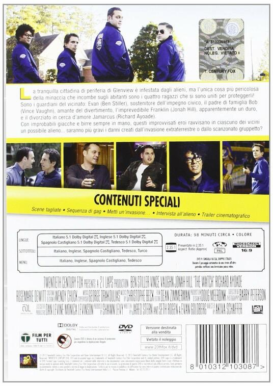 Vicini del terzo tipo di Akiva Schaffer - DVD - 2