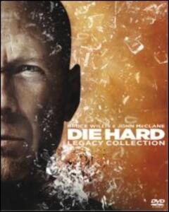 Die Hard Collection (4 DVD) di Renny Harlin,John McTiernan,John Moore,Len Wiseman