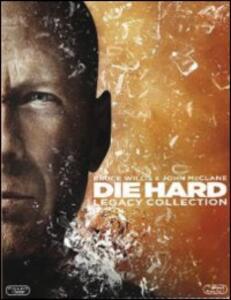 Die Hard Collection (5 Blu-ray) di Renny Harlin,John McTiernan,John Moore,Len Wiseman
