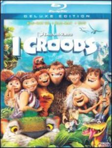 I Croods 3D (DVD + Blu-ray + Blu-ray 3D) di Kirk De Micco,Chris Sanders