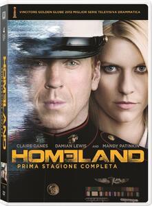 Homeland. Stagione 1 (4 DVD) - DVD
