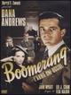 Cover Dvd Boomerang - L'arma che uccide