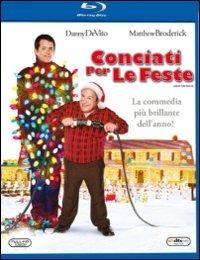 Cover Dvd Conciati per le feste (Blu-ray)