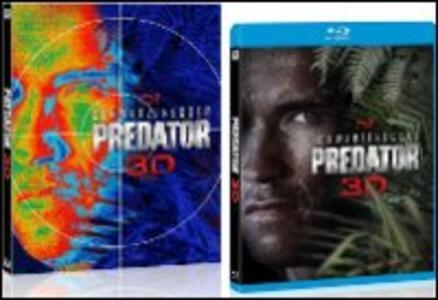 Predator 3D (DVD + Blu-ray + Blu-ray 3D) di John McTiernan