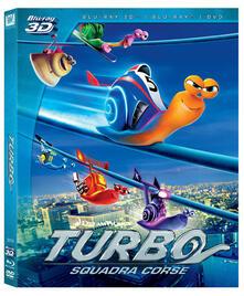 Turbo 3D (DVD + Blu-ray + Blu-ray 3D) di David Soren