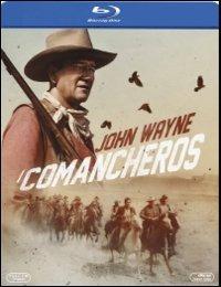 Cover Dvd Comancheros (Blu-ray)