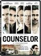 Cover Dvd DVD The Counselor - Il Procuratore
