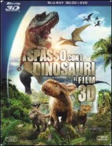 A spasso con i dinosauri 3D (DVD + Blu-ray + Blu-ray 3D) di Barry Cook,Neil Nightingale - DVD + Blu-ray + Blu-ray 3D