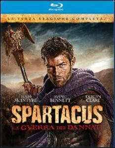 Spartacus. La guerra dei dannati. Stagione 3 (4 Blu-ray) - Blu-ray