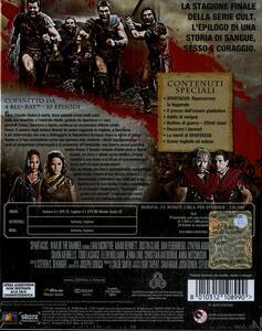 Spartacus. La guerra dei dannati. Stagione 3 (4 Blu-ray) - Blu-ray - 2