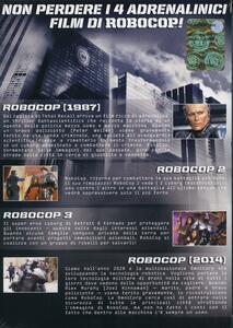 RoboCop Collection (4 DVD) di Fred Dekker,Irvin Kershner,José Padilha,Paul Verhoeven - 2