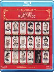Film Grand Budapest Hotel (Blu-ray) Wes Anderson