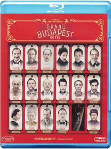 Grand Budapest Hotel (Blu-ray) di Wes Anderson - Blu-ray