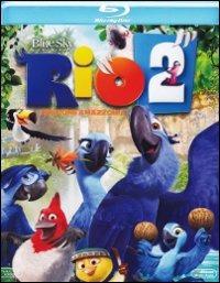 Cover Dvd Rio 2. Missione Amazzonia (Blu-ray)