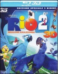 Cover Dvd Rio 2. Missione Amazzonia 3D (Blu-ray)
