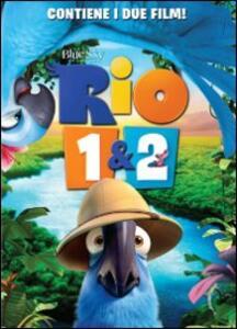 Rio - Rio 2 (2 DVD) di Carlos Saldanha