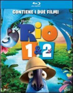Rio - Rio 2 (2 Blu-ray) di Carlos Saldanha