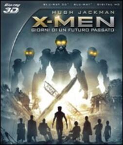 X-Men. Giorni di un futuro passato 3D (Blu-ray + Blu-ray 3D) di Bryan Singer