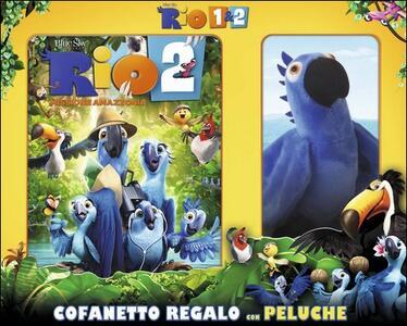 Rio 1 & 2 (2 DVD) di Carlos Saldanha