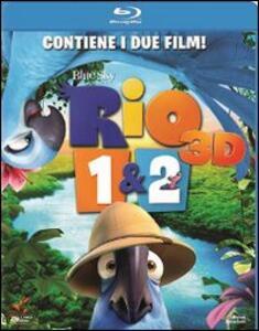 Rio - Rio 2. 3D (Blu-ray + Blu-ray 3D) di Carlos Saldanha