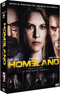 Homeland. Stagione 3 (4 DVD) - DVD