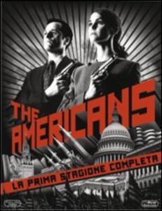 Film The Americans. Stagione 1 (3 Blu-ray) Daniel Sackheim Adam Arkin John Dahl