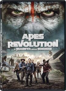 Apes Revolution. Il pianeta delle scimmie di Matt Reeves - DVD