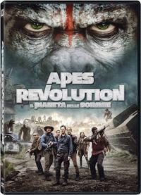 Cover Dvd Apes Revolution. Il pianeta delle scimmie (DVD)