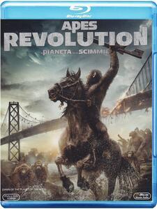 Apes Revolution. Il pianeta delle scimmie di Matt Reeves - Blu-ray