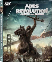 Cover Dvd Apes Revolution. Il pianeta delle scimmie (Blu-ray)