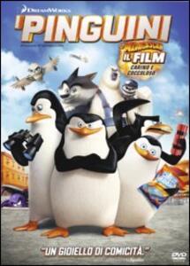 I pinguini di Madagascar di Eric Darnell,Simon J. Smith - DVD