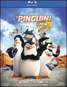 I pinguini di Madagascar di Eric Darnell,Simon J. Smith - Blu-ray