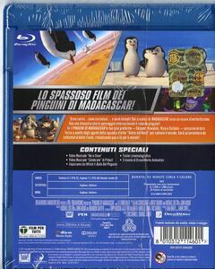 I pinguini di Madagascar di Eric Darnell,Simon J. Smith - Blu-ray - 2