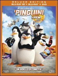 Cover Dvd I pinguini di Madagascar 3D (Blu-ray)