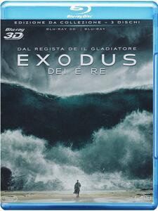 Film Exodus. Dei e Re 3D (Blu-ray + Blu-ray 3D) Ridley Scott